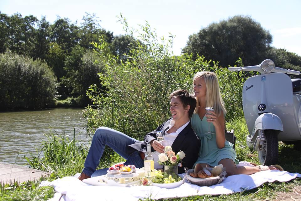 Vespatour met picknick!